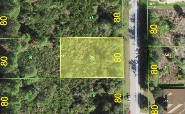 8233 Santa Cruz Drive, Port Charlotte, FL 33981 (MLS #D6118705) :: Griffin Group