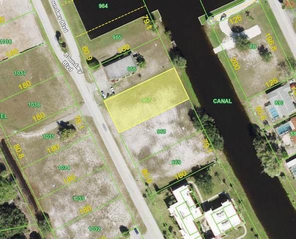 106 Boundary Boulevard, Rotonda West, FL 33947 (MLS #D6118886) :: The BRC Group, LLC