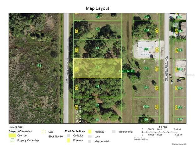235 Rotonda Boulevard S, Rotonda West, FL 33947 (MLS #D6119364) :: Southern Associates Realty LLC