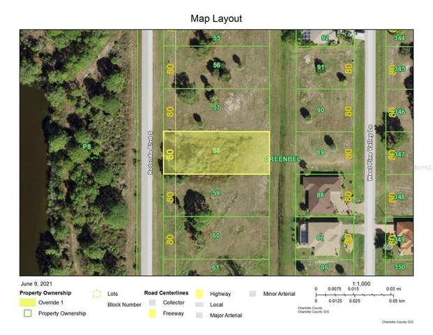 261 Rotonda Boulevard S, Rotonda West, FL 33947 (MLS #D6119369) :: Southern Associates Realty LLC