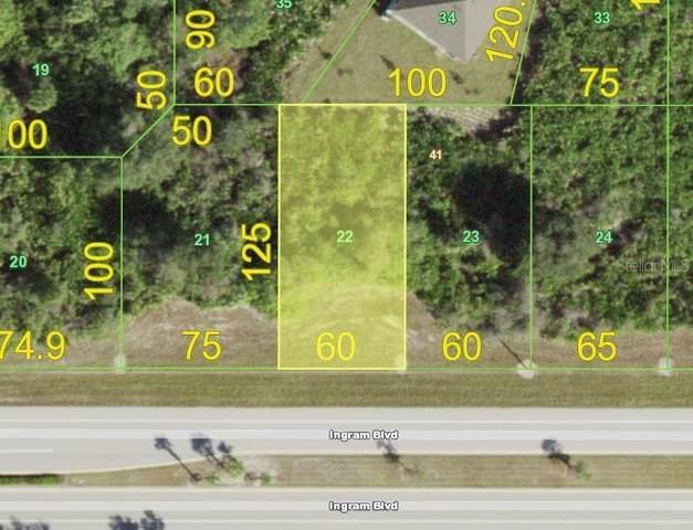 176 Ingram Boulevard, Rotonda West, FL 33947 (MLS #D6119417) :: The Robertson Real Estate Group