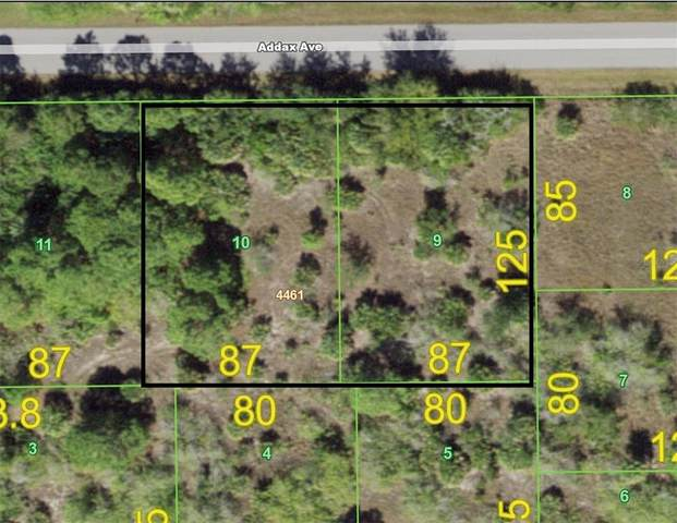 15355 & 15363 Addax Avenue, Port Charlotte, FL 33981 (MLS #D6119440) :: Coldwell Banker Vanguard Realty