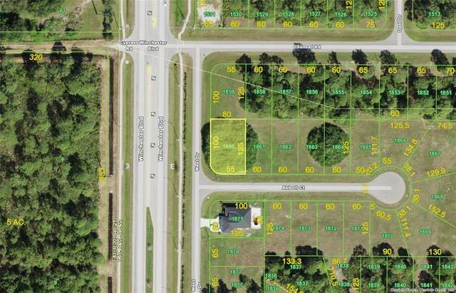 100 Abbott & 171 West (Lot 1860) Court, Rotonda West, FL 33947 (MLS #D6119511) :: Kelli and Audrey at RE/MAX Tropical Sands