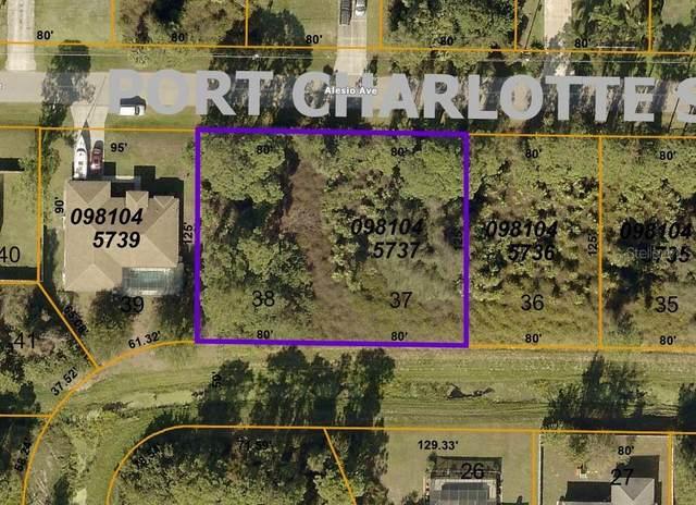 Lot 37 & 38 Alesio Avenue, North Port, FL 34286 (MLS #D6119529) :: Coldwell Banker Vanguard Realty