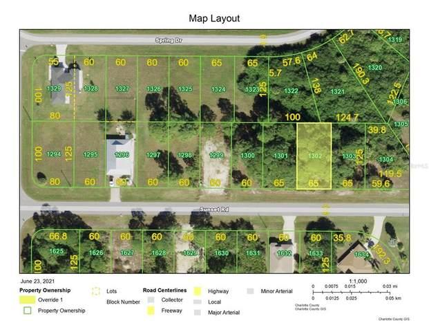 168 Sunset Road N, Rotonda West, FL 33947 (MLS #D6119681) :: Coldwell Banker Vanguard Realty