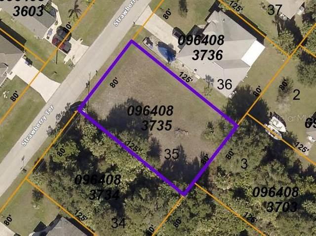 Strawberry Terrace, North Port, FL 34286 (MLS #D6120092) :: Sarasota Gulf Coast Realtors