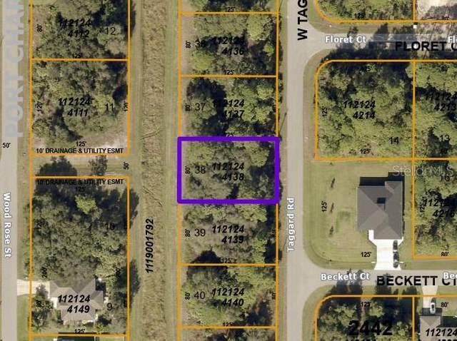 W Taggard Road, North Port, FL 34288 (MLS #D6120139) :: Zarghami Group