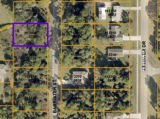 Barrister Street, North Port, FL 34288 (MLS #D6120147) :: The Paxton Group