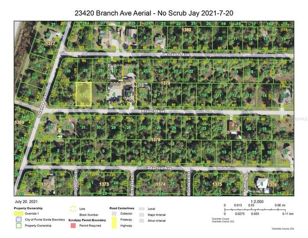 23420 Branch Avenue, Port Charlotte, FL 33980 (MLS #D6120272) :: The Nathan Bangs Group