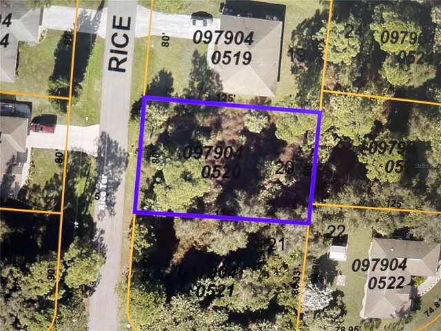 0979040520 Rice Terrace, North Port, FL 34286 (MLS #D6120428) :: Cartwright Realty