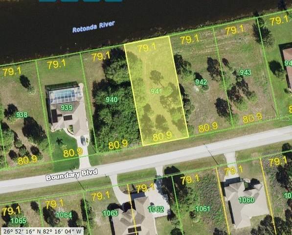 1162 Boundary Boulevard, Rotonda West, FL 33947 (MLS #D6120476) :: The BRC Group, LLC