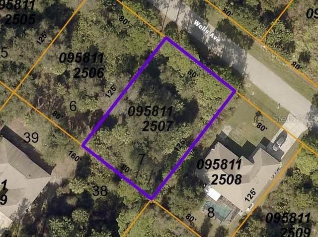 Wells Avenue, North Port, FL 34286 (MLS #D6120492) :: Globalwide Realty