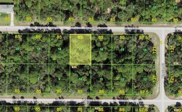 17115 Arthur Avenue, Port Charlotte, FL 33948 (MLS #D6121141) :: Globalwide Realty