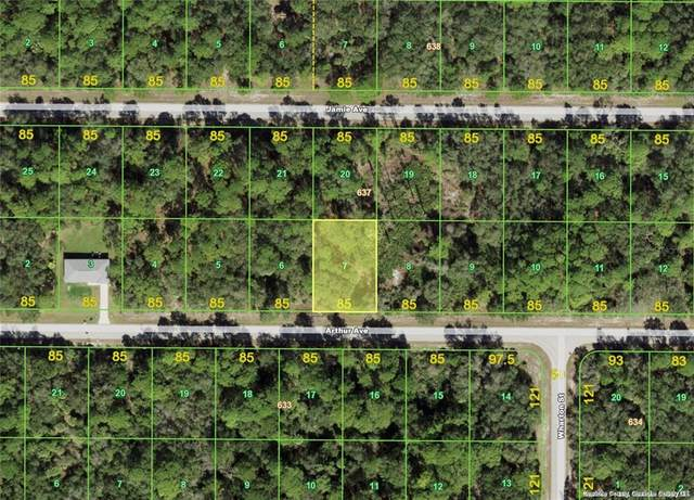 17122 Arthur (Lot 7) Avenue, Port Charlotte, FL 33948 (MLS #D6121902) :: Orlando Homes Finder Team