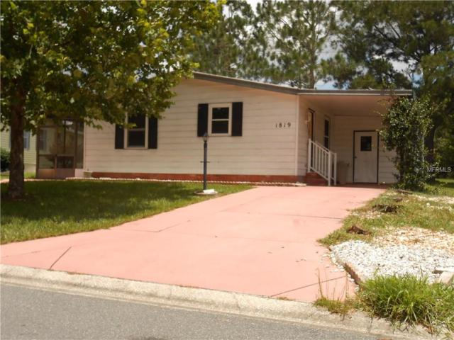 1819 E Schwartz Boulevard, The Villages, FL 32159 (MLS #G4844380) :: Realty Executives in The Villages