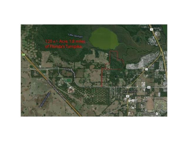 Cr 470, Okahumpka, FL 34762 (MLS #G4846919) :: The Duncan Duo Team