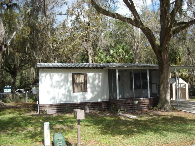 1648 Cr 434, Lake Panasoffkee, FL 33538 (MLS #G4850588) :: The Duncan Duo Team