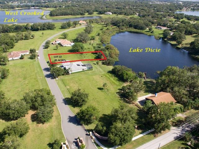 LOT 22 236 TWO LAKES Lane, Eustis, FL 32726 (MLS #G4850607) :: Griffin Group