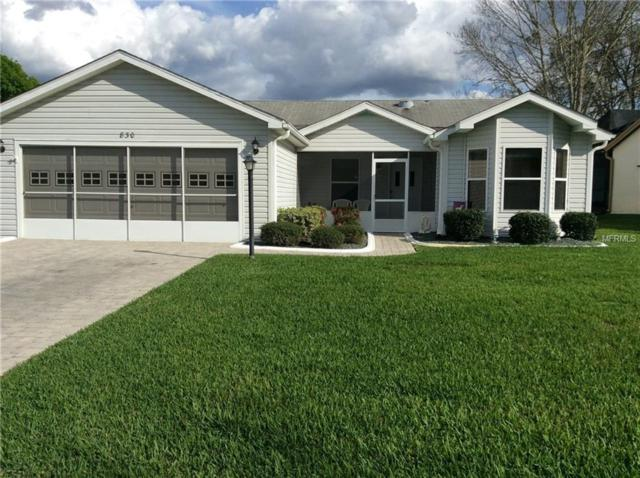 830 Cortez Avenue, The Villages, FL 32159 (MLS #G4853501) :: Realty Executives in The Villages