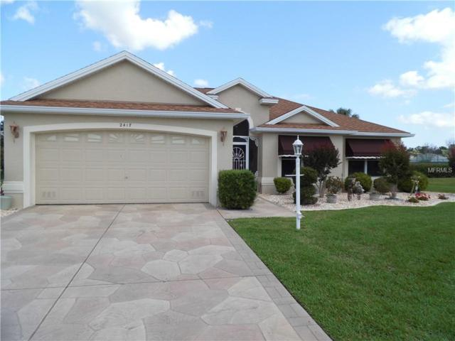 2417 Merida Circle Circle, The Villages, FL 32162 (MLS #G5000205) :: Realty Executives in The Villages