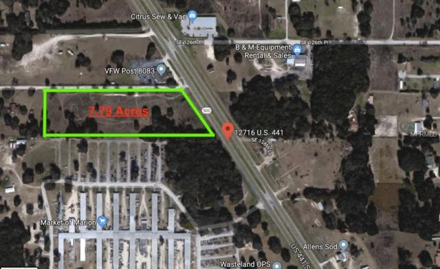 12716 S Us Hwy 441, Belleview, FL 34420 (MLS #G5000423) :: Premium Properties Real Estate Services