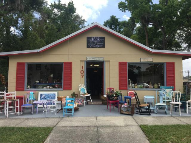 107 W Berckman Street, Fruitland Park, FL 34731 (MLS #G5000440) :: RealTeam Realty