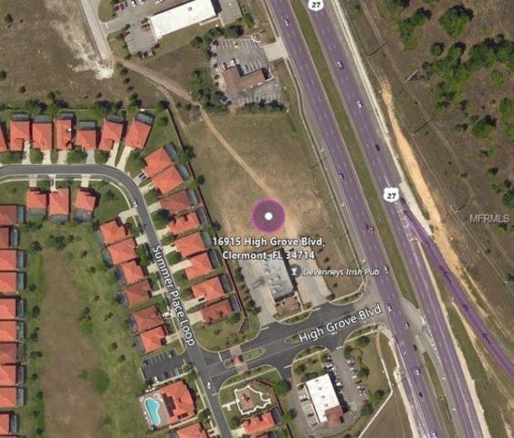 16915 High Grove Boulevard, Clermont, FL 34714 (MLS #G5001268) :: Team Pepka