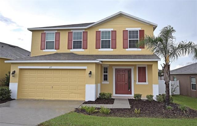 377 Red Kite Drive, Groveland, FL 34736 (MLS #G5004926) :: RealTeam Realty