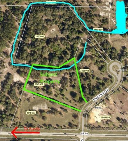 Tree Frog Lane, Eustis, FL 32736 (MLS #G5006010) :: Griffin Group