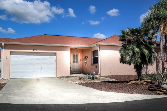 803 Las Cruces Court, Lady Lake, FL 32159 (MLS #G5007650) :: Team Touchstone