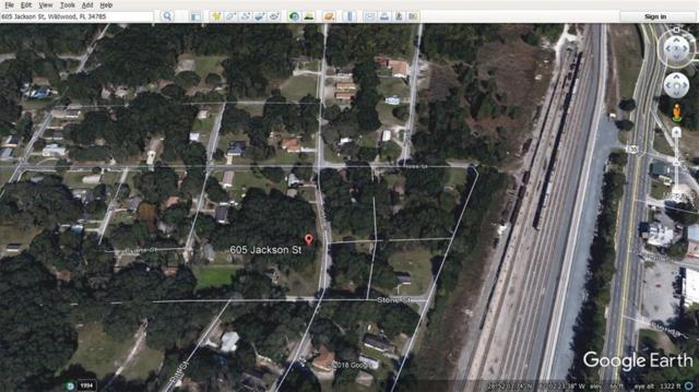 605 Jackson Street, Wildwood, FL 34785 (MLS #G5007706) :: Cartwright Realty