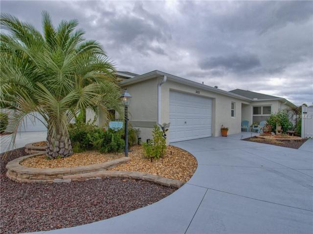 2433 Saffron Lane, The Villages, FL 32162 (MLS #G5009677) :: Premium Properties Real Estate Services