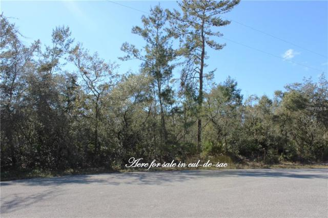 Lot 8 Larkspur Avenue, Eustis, FL 32736 (MLS #G5010920) :: KELLER WILLIAMS CLASSIC VI