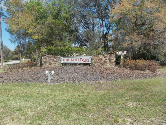 Mill Pond Road, Tavares, FL 32778 (MLS #G5013090) :: The Duncan Duo Team