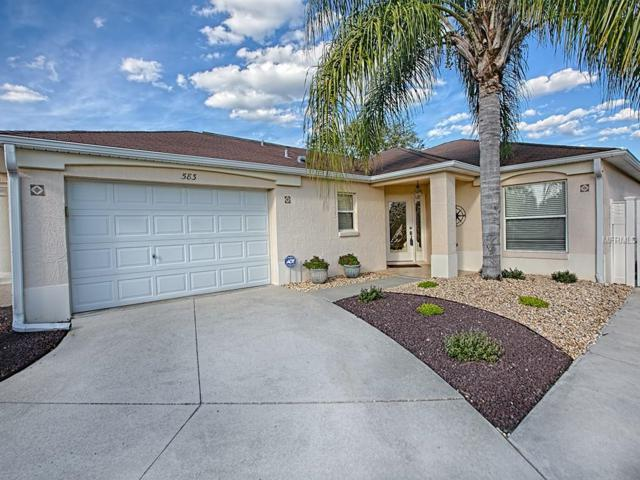 583 Concord Court, The Villages, FL 32162 (MLS #G5013130) :: Realty Executives in The Villages