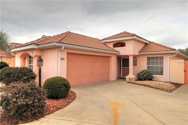 908 San Saba Court, The Villages, FL 32159 (MLS #G5013446) :: Realty Executives in The Villages