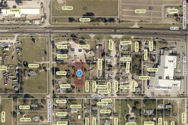 Gano Road, Groveland, FL 34736 (MLS #G5015981) :: Team Bohannon Keller Williams, Tampa Properties