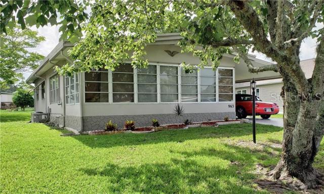963 Tarrson Boulevard, The Villages, FL 32159 (MLS #G5017309) :: Lovitch Realty Group, LLC