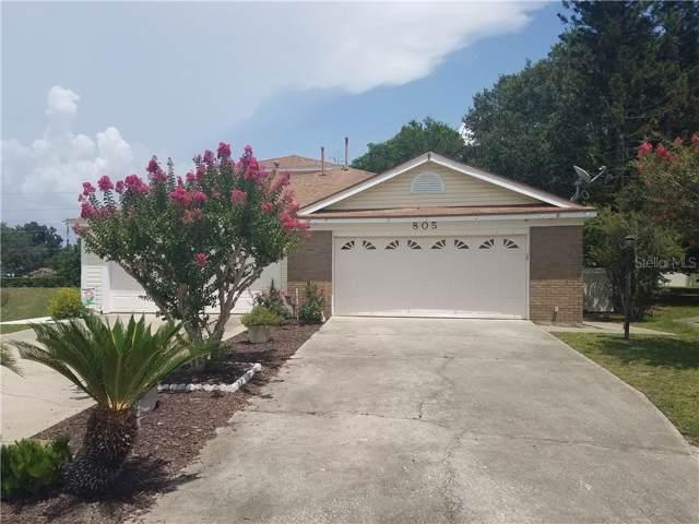 805 Millrace Point, Longwood, FL 32750 (MLS #G5018104) :: American Realty