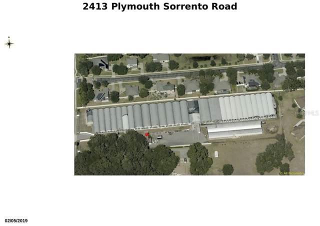 2413 Plymouth Sorrento Road, Apopka, FL 32712 (MLS #G5018206) :: Ideal Florida Real Estate