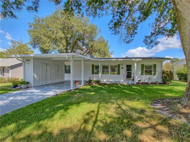 41 Aberdeen Circle 41A, Leesburg, FL 34788 (MLS #G5021251) :: Team Bohannon Keller Williams, Tampa Properties