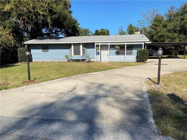 4201 Chestnut Drive, Mount Dora, FL 32757 (MLS #G5023413) :: Baird Realty Group