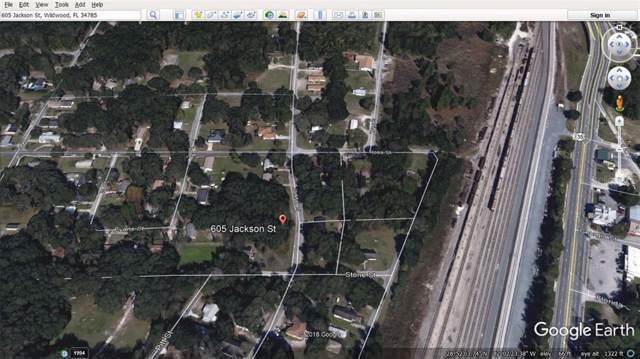 605 Jackson Street, Wildwood, FL 34785 (MLS #G5023872) :: Armel Real Estate