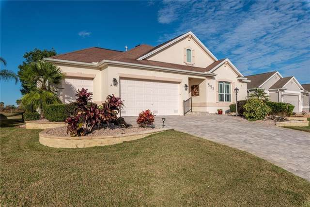 593 Inner Circle, The Villages, FL 32162 (MLS #G5024369) :: Delgado Home Team at Keller Williams