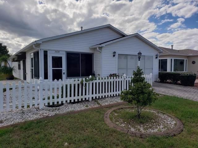 2430 Laurel Bay Lane, The Villages, FL 32162 (MLS #G5024717) :: Realty Executives in The Villages