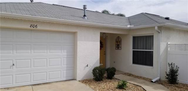 806 Gaffney Street, The Villages, FL 32162 (MLS #G5025207) :: Realty Executives in The Villages