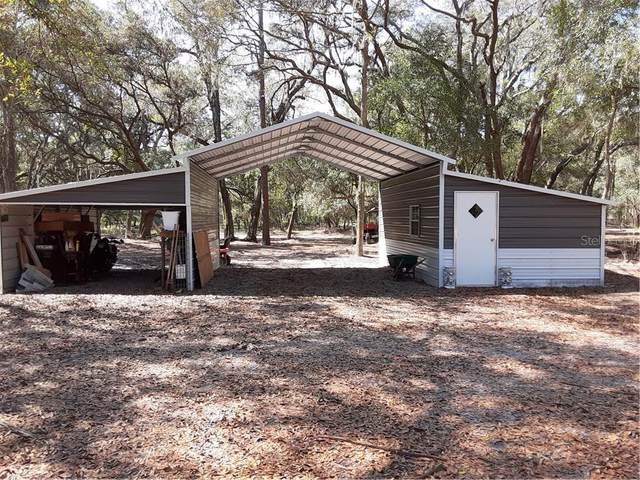 1693 County Rd 479, Lake Panasoffkee, FL 33538 (MLS #G5027113) :: The Light Team