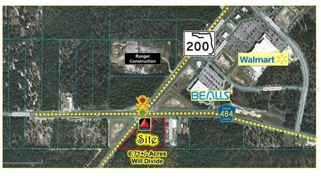 SW Hwy 200 / College Rd, Ocala, FL 34481 (MLS #G5030126) :: Premier Home Experts