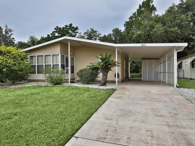 240 Westwood Drive, Leesburg, FL 34748 (MLS #G5030906) :: Dalton Wade Real Estate Group
