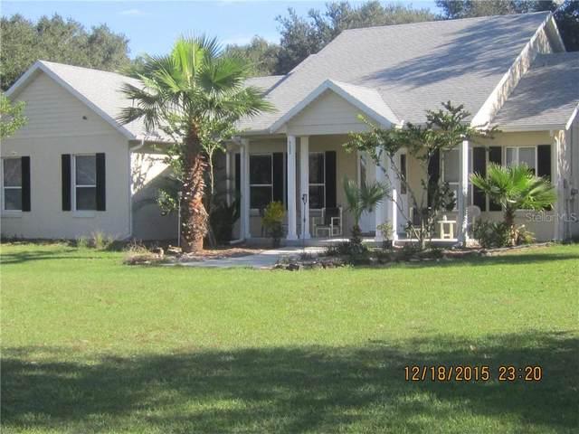 9622 Dr Baker Road, Groveland, FL 34736 (MLS #G5036373) :: Sarasota Gulf Coast Realtors